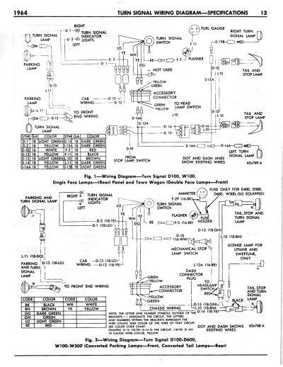 Wiring Diagrams 60-66 Power Wagon & WM300 on