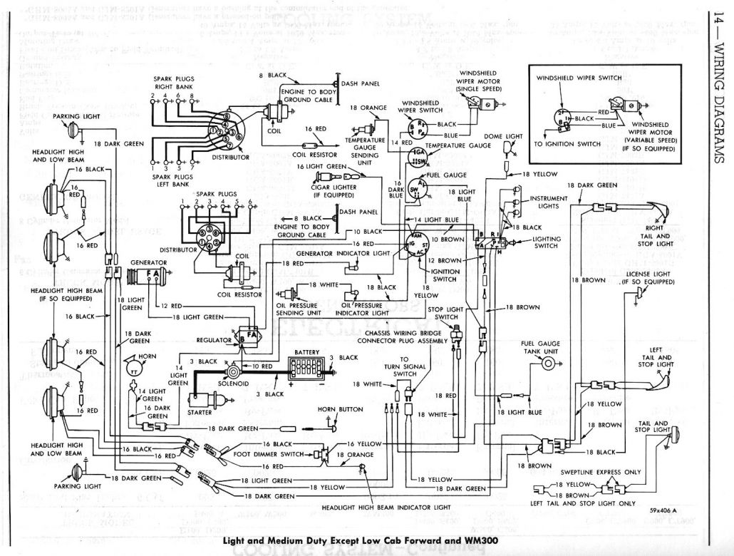 1964 dodge d100 wiring diagram