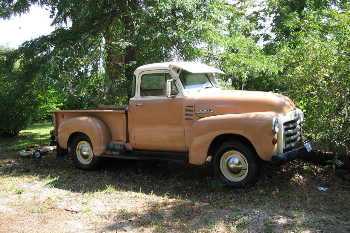 1953 gmc 100 5 window 1 2 ton pick up the stovebolt forums for 1953 gmc 5 window