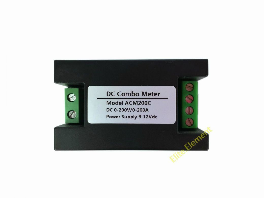 Mesurer Amperage Batterie How To Use A Digital Multimeter Boatus Lcd 60v 100a Dc Rc Balance Voltage Watt Meter Battery Power Analyzer 200v Volt Amp Monitor Charge Discharge Current Ds Ebay