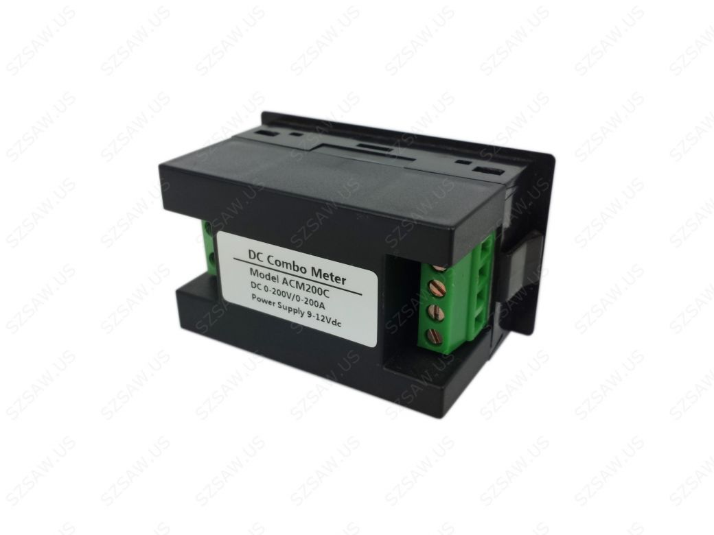 Backup Battery For Amp Meter : Dual voltmeter ammeter dc v a digital lcd amp