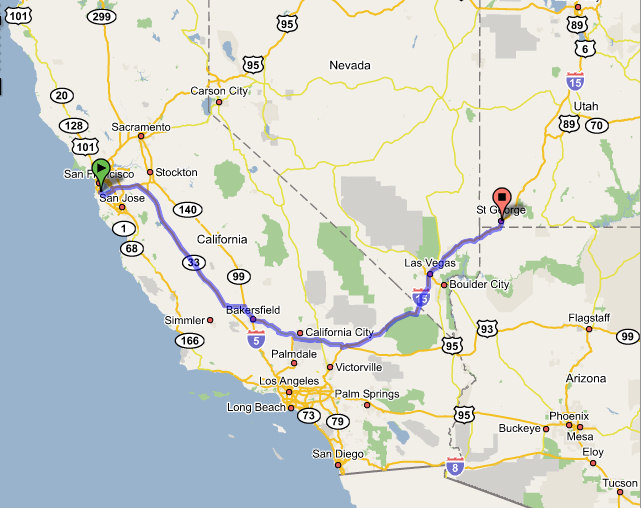 North Point Toyota >> Roadtrip San Francisco to Zion, Utah and back, 43 mpg